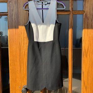 Tibi color block mini dress, size 2